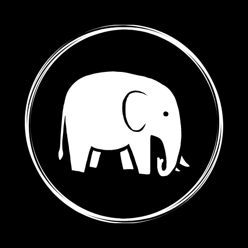 The Wellness Elephant logo used in the blog helping people understand what is meditation.